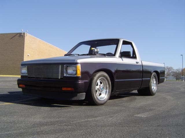 Chevy S10, Pro Street, LQ4, TH350 - Yates EFI
