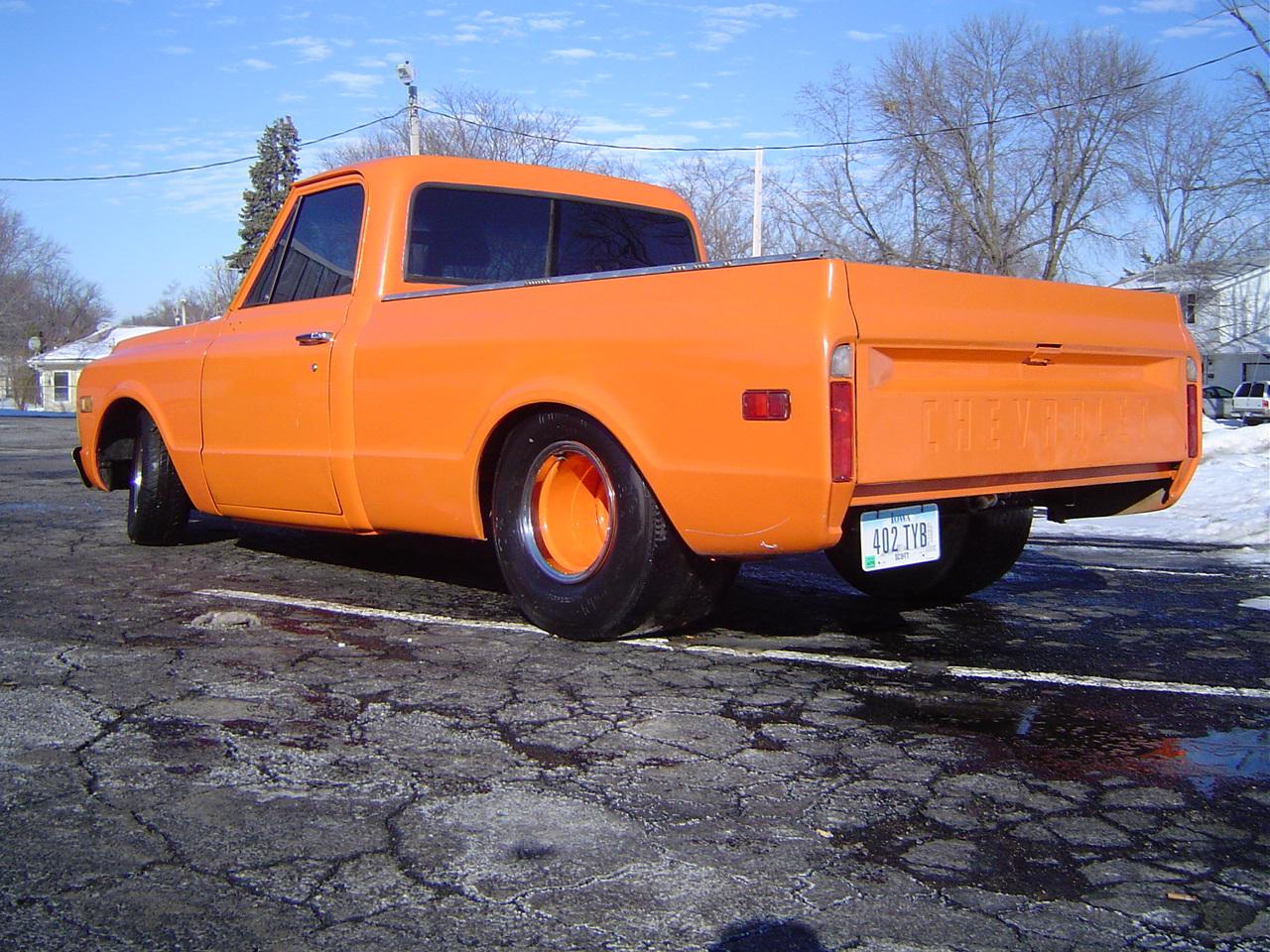 All Chevy c10 chevy : 1969 Chevy C10, Pro Street, 5.3, TH400 - Yates EFI
